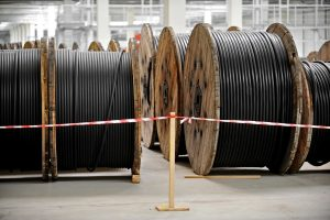 Industrial cable drums